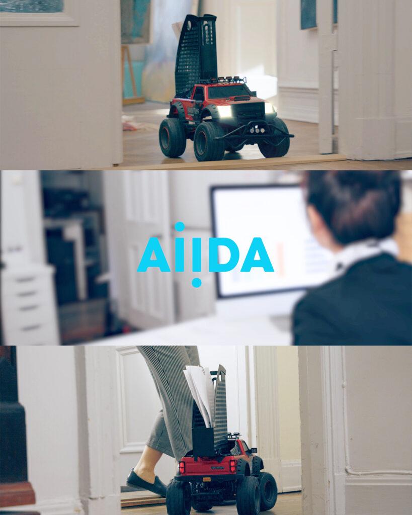 SoftRobot videokampanj för Aiida